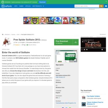 Free-spider-solitaire-2012.en.softonic.com thumbnail