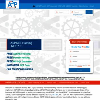 free asp net hosting for developers