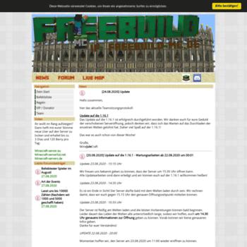 Freebuild-mc.de thumbnail
