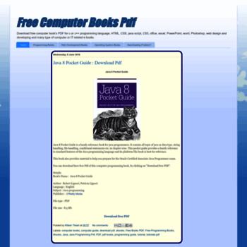 freecomputerbookspdf blogspot sg at WI  Free Computer Books