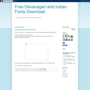 Freedevanagari.blogspot.in thumbnail