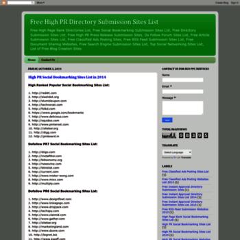Freedirectorywebsites.blogspot.in thumbnail