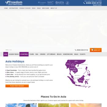 Freedomasia.co.uk thumbnail