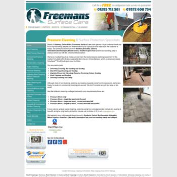 Freemanssurfacecare.co.uk thumbnail