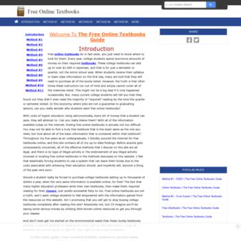 Freeonlinetextbooks.net thumbnail
