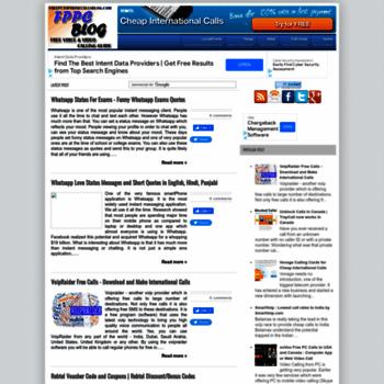 freepctophonecallsblog com at WI  Free Pc to Phone Calls, Free Voip