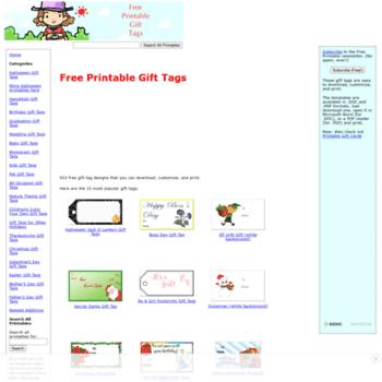 Freeprintablegifttags.net thumbnail
