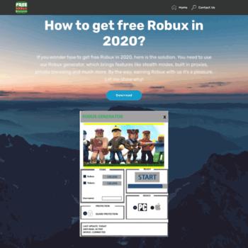 freerobuxroblox com at WI  Get Free Robux Roblox Generator