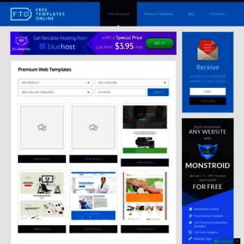 Freetemplatesonline At WI Free Web Templates Resource