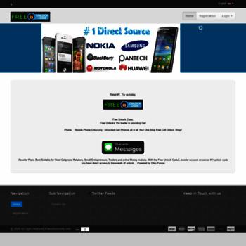 freeunlockcode com at WI  Get Free Unlock Code Official