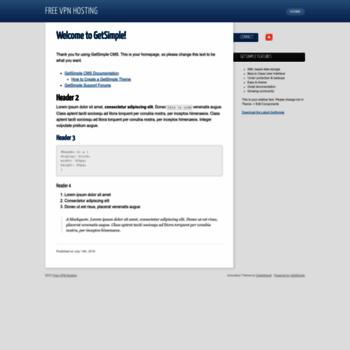 Бесплатный vpn хостинг создать сайт бесплатный хостинг украина
