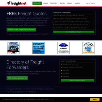 Freight Forwarders Directory
