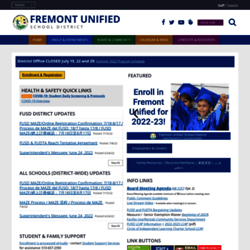 Fremont.k12.ca.us thumbnail