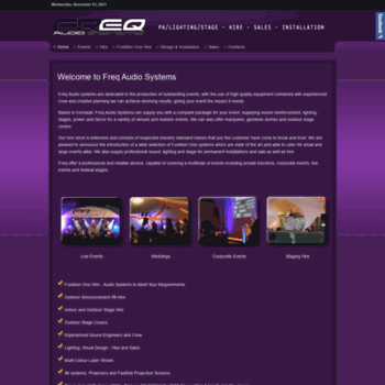 Freqaudiosystems.co.uk thumbnail