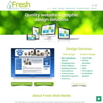 freshwebmedia com au at WI  Joomla Web Design Perth, Joomla