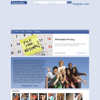 Friendfin.com thumbnail