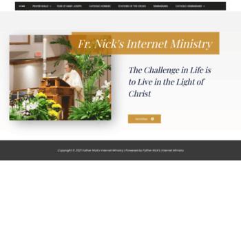 frnick com at WI  Homilies com - Catholic Homilies Resources
