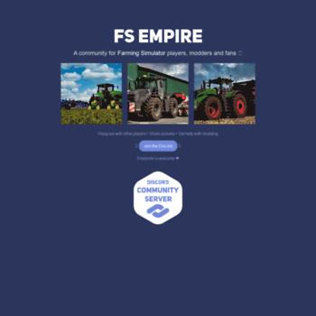 fs-uk com at WI  FS17 Mods - Download FS mods at Farming Simulator UK