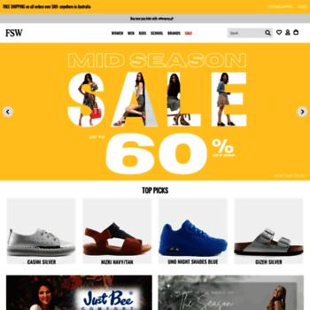 86cedf2a52b fswshoes.com.au at WI. FSW Shoes - Shop Now