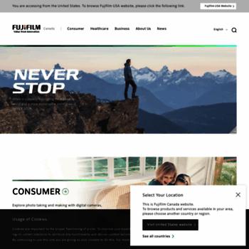 Fujifilm.ca thumbnail