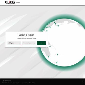 Fujifilm.com thumbnail