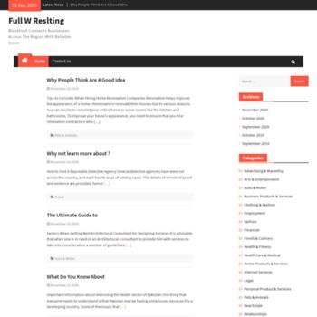 Fullwrestling.info thumbnail