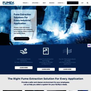 fumexinc com at WI  Clean Air with Fumex Air Purifier