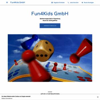 Fun4kids.de thumbnail