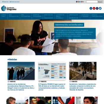 Fundaciondiagrama.es thumbnail