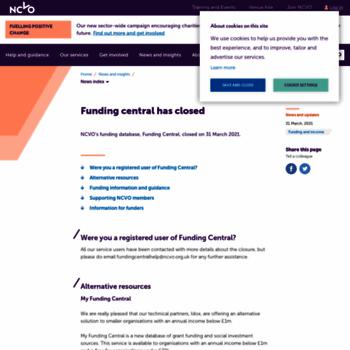 Fundingcentral.org.uk thumbnail