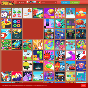 funfreearcadegames com at WI  Cool Math Games - Puzzles
