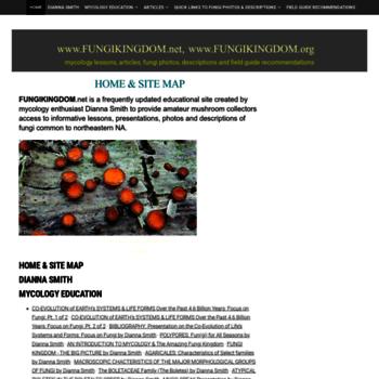 Fungikingdom.net thumbnail