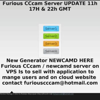 furiouscccam-free24 rhcloud com at WI  Furious CCcam Server