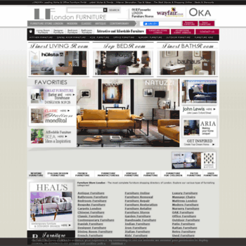 Furniturestorelondon.co.uk thumbnail