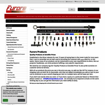 Furoreproducts.co.uk thumbnail