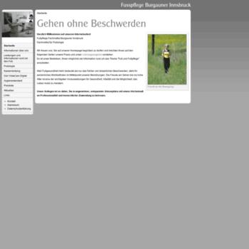 Fusspflege-burgauner.at thumbnail