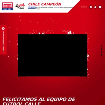 Futbolcallechile2014.cl thumbnail