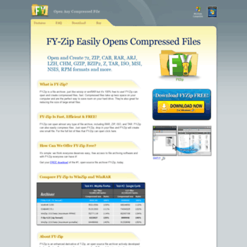 fyzip com at WI  Open Compressed Files – FYZip Free Download