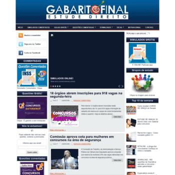 Gabaritofinal.com.br thumbnail