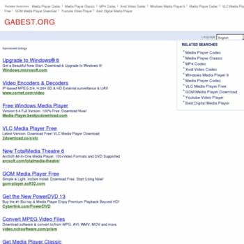 Gabest.org thumbnail
