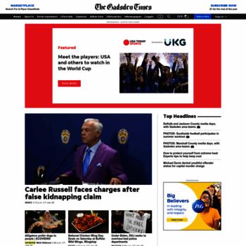 gadsdentimes com at WI  Gadsden Times: Local News, Politics