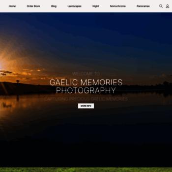 Gaelicmemoriesphotography.ie thumbnail
