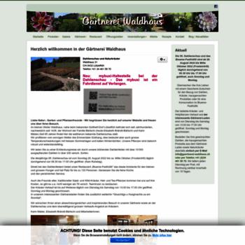 Gaertnerei-waldhaus.ch thumbnail