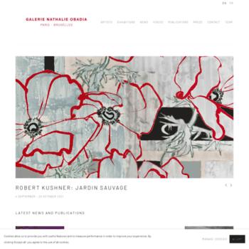 Galerie-obadia.com thumbnail