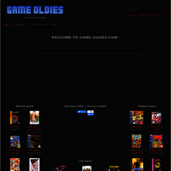 Game-oldies.com thumbnail
