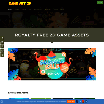 gameart2d com at WI  Game Art 2D - Royalty Free 2D Game Assets