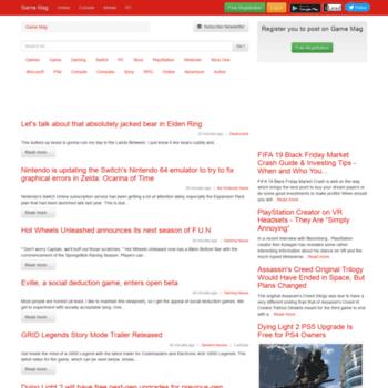 Gamemag.top thumbnail