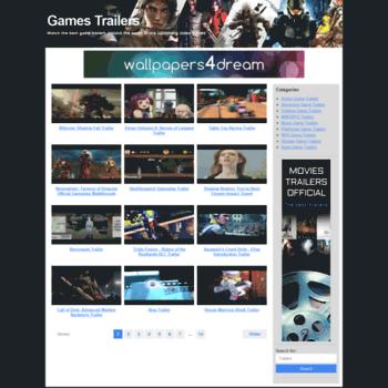 Gamestrailersofficial.com thumbnail