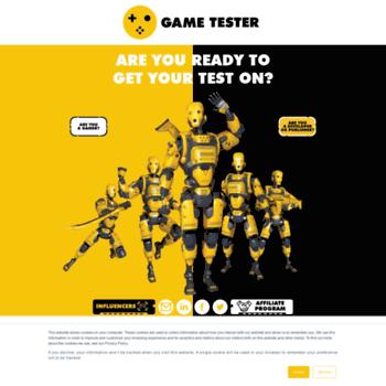 Gametester.co thumbnail
