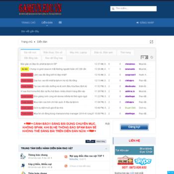 Gamevn.edu.vn thumbnail